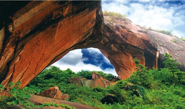 永兴丹霞森林公园 国家级森林公园-永兴县景点 永兴旅游