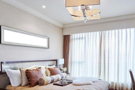 卧室窗帘颜色搭配怎么好看